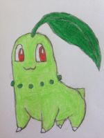 Chikorita by nintendolover2010