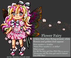 Chibi Fairy Girl Adopt Open by Snowlyn