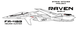 FA-42B Neuroi Hunter vector by Ruhisu