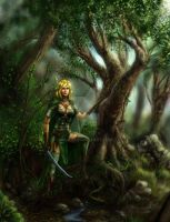 Warden of the Wood by Mlad