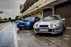 GT-Four and Impreza by redsunph