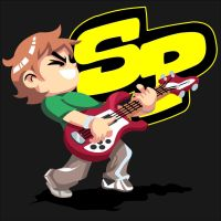 Scott Pilgrim on Guitar by KanesTheName