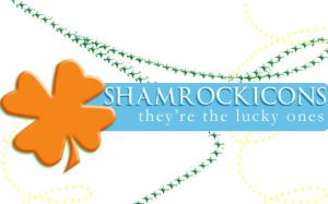 Shamrock Icons by shadowshamrock