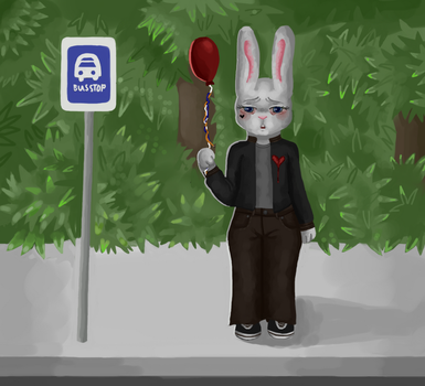 Bus Stop by Gothic-Rarity