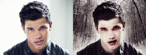 Jacob Black Vampire before after by Jeanne26