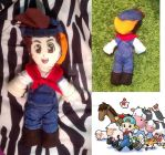 Harvest Moon Jack ( / Pete) Plushie by HarvestMoonFreak723
