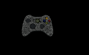 Typography Xbox  controller XD by gamingaddictmike125