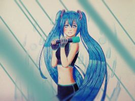 Hatsune Miku by hector026
