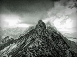 Dramatic Mountain by tripiatrik