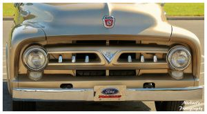 A 1956 Ford  F-100 Truck - Grille by TheMan268