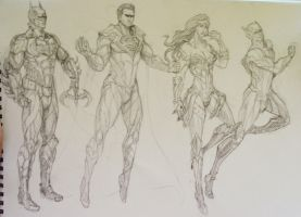 DC redesigns by jaeon009