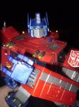 Optimus Prime Rocks by CyberDrone