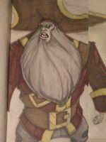 MI: LeChuck.Ghost Pirate Concept by yellow-five