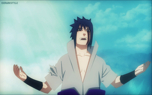 Naruto 485 Sasuke Fighting by exdarkstyle