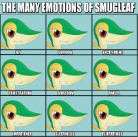 The Many Emotions of Smugleaf by Resistance-Of-Faith