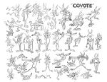 Wile E. Coyote Model Sheet Ver. 5 by guibor