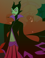 Favorite Villains - Maleficent by Dragon-FangX