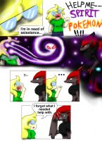 Spirit Pokemon by Cloba94