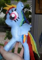 Rainbow Dash Plush by eggsistoast