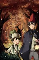 Over the Garden wall by Crimson-Chains