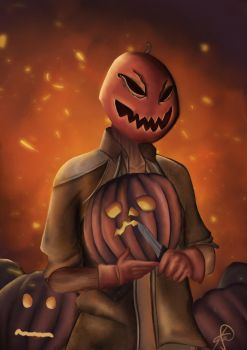 Pumpkin Killer by Dreaminhighzaxx
