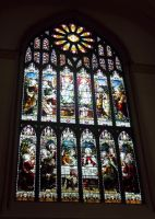 Dunfermline Abbey stained glass #3 by High-Tech-Redneck