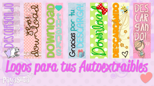 Logos Autoextraibles by Payasiita