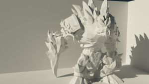 Glacial Malphite Vray Render1 by M-Craft