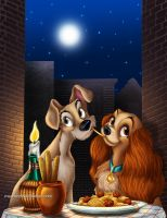 .Lady and the Tramp. by Mareishon