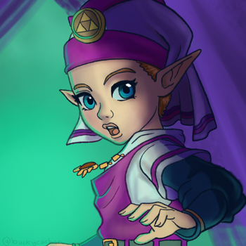 #ZeldaChallenge - Zelda - Ocarina of Time by InAmberClad