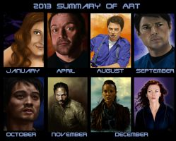 2013 Summary of Art by MissingMyMind