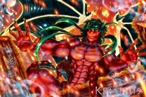 Kemthis ~Guardian Against Chaos~ by Guardian-Beast