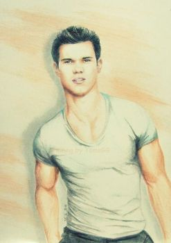 Taylor Lautner GQ drawing by TomsGG