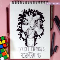 Doodle Chemicals are Regenerating by PicCandle