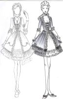 Rococo lolita: light and dark by Taicho
