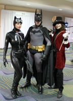 The Bat, The Cat, and the Doc by luehrsen