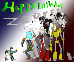 a very Zeurel Birthday by MethusulaComics