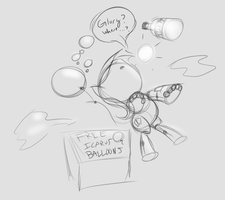 25 - Blackjack and Balloon by Retl