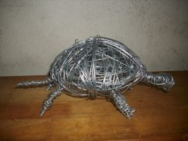 Wire Turtle 1 by CreepOfFear