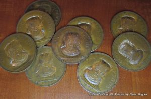 Frankenstein's Monster Pennies Counter Stamp by shaun750