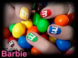M8M Nails by BarbieNailArt