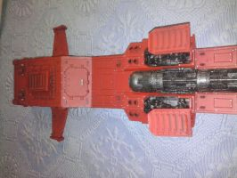 Blood Angels Thunderhawk by Danhte