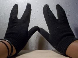Invader Gloves (short sleeved) by IrkenInvaderNyx