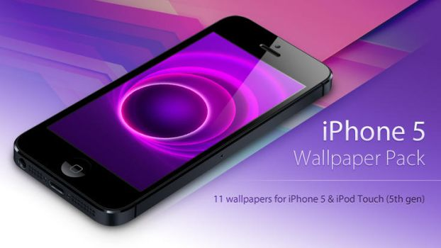 iPhone 5 Wallpaper Pack by duckfarm