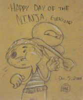 Happy Day of the Ninja 2008 by MCBooga