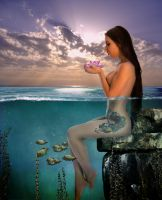 Submerged Nereid by Prithvi-Enoch