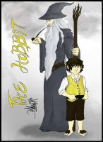 The Hobbit and The Gray Wizard by ajbluesox