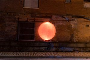 Orange Orb by Lorddarphyve