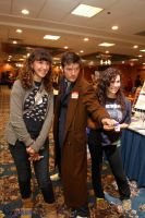 Tenth Doctor Cosplay: Pandoracon by KnoppGraphics