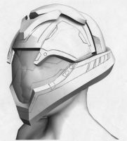 Ariadne Concept Helmet 1 Open by SS-Crow